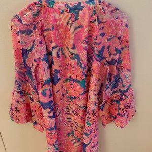 Lilly Pulitzer Dresses - Lilly Pulitzer Matilda Silk Tunic Dress